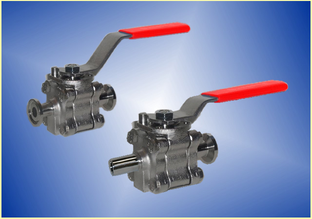 Genstreme Clean Streme Ball Valves